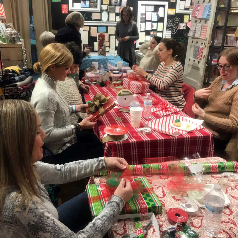 Gift Wrapping 101 Class - December 5, 2019