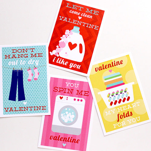 laundry punny valentines on barquegifts.com