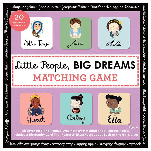 Little People, Big Dreams Matching Game