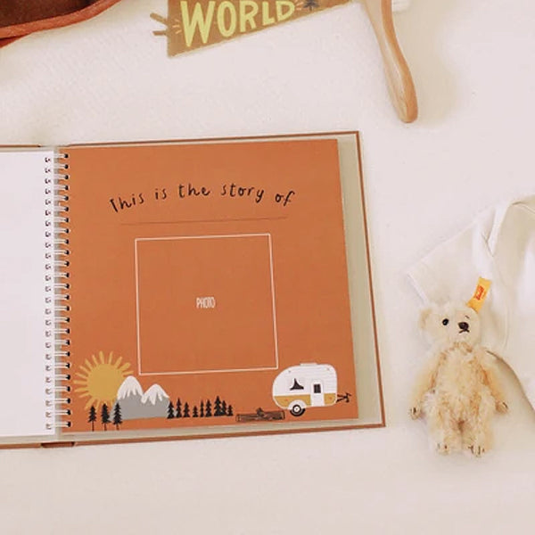 little camper memory book on barquegifts.com