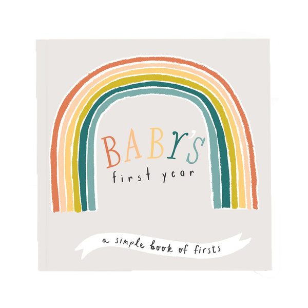 little rainbow memory book on barquegifts.com