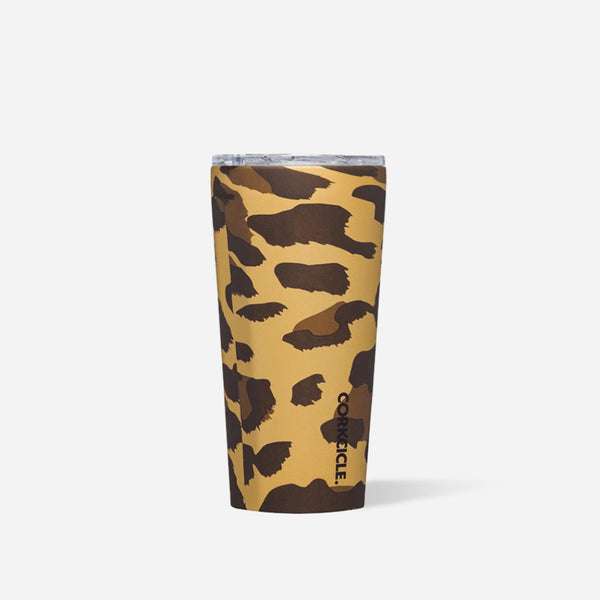 Luxe Leopard 16oz Corkcicle Tumbler at barquegifts.com