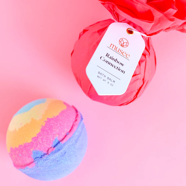 Rainbow Connection Bath Bomb