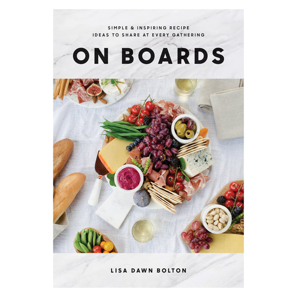 On Boards Cookbook at barquegifts.com