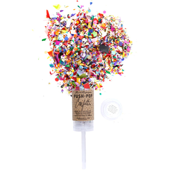original push pop confetti on barquegifts.com