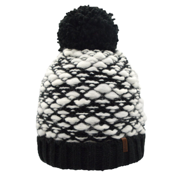 pudus bubble beanie black on barquegifts.com