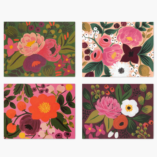 Rifle Paper Co. Assorted Vintage Blossoms Card Set at barquegifts.com