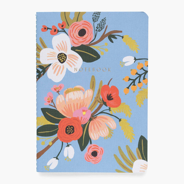 Rifle Paper Co. Assorted Set of 3 Lively Floral Notebooks