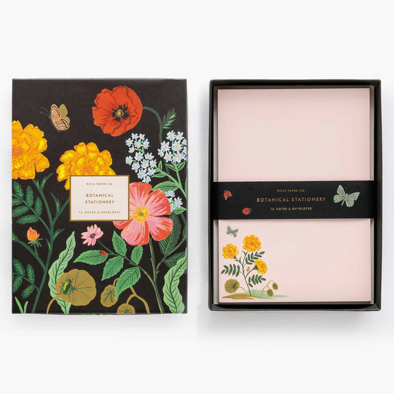 Rifle Paper Co. Botanical Social Stationery Set at barquegifts.com