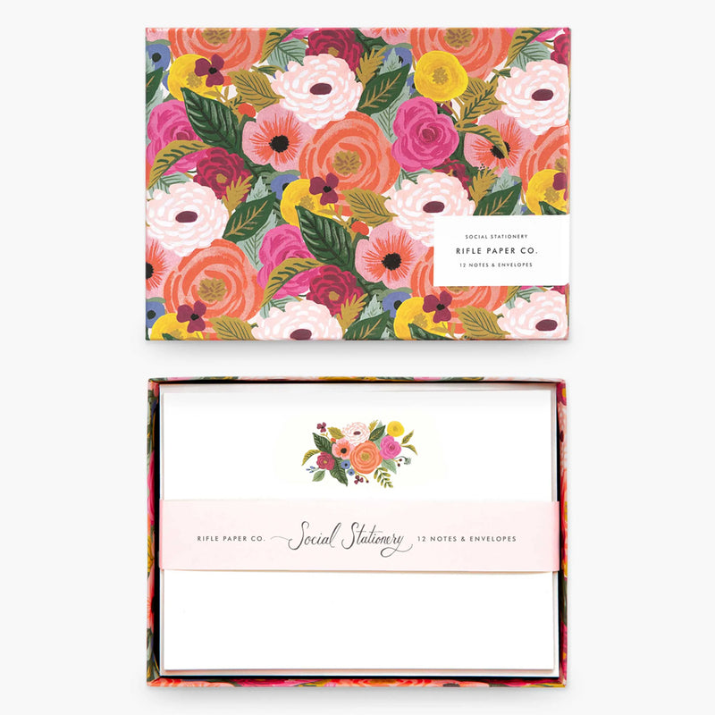 Rifle Paper Co. Juliet Rose Social Stationery Set at barquegifts.com