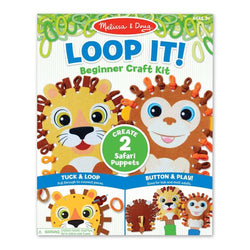Safari Puppet Loop it! at barquegifts.com