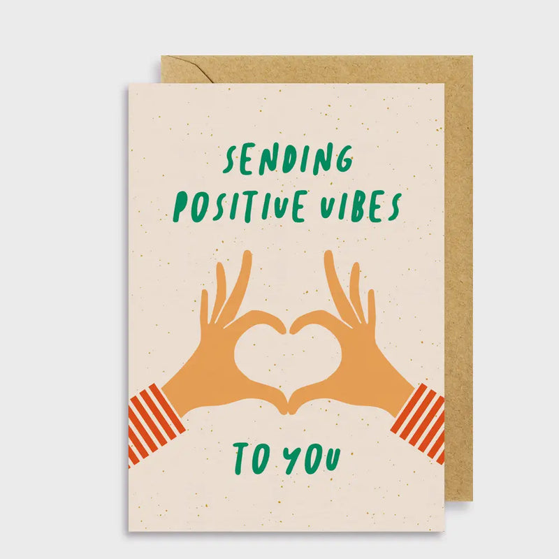 Sending Positive Vibes To You Card