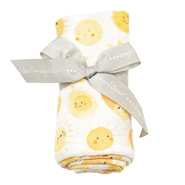 Sunshine Swaddle Blanket at barquegifts.com