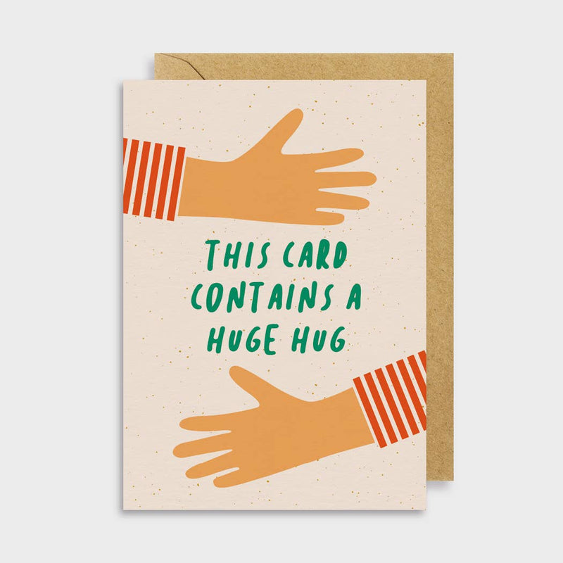 This Card Contains A Huge Hug Card