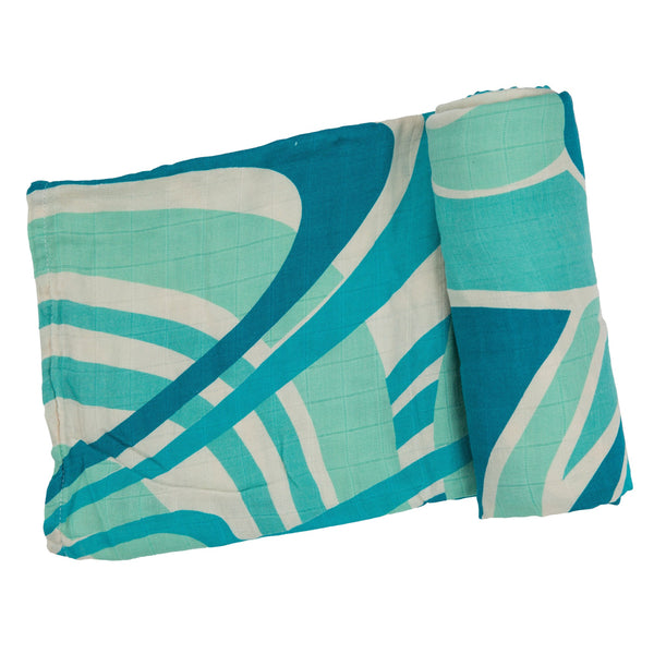 Vintage Swaddle Blanket at barquegifts.com