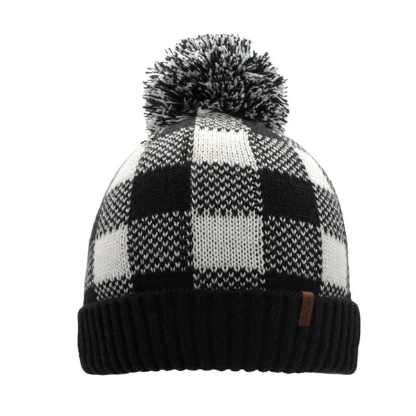 lumberjack fleece lined beanie on barquegifts.com