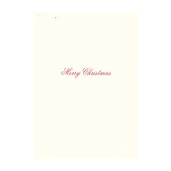 Big Stripe Bow Boxed Holiday Cards  (box of 10)