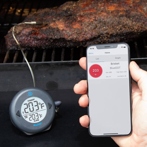 BlueDot Alarm Thermometer with Bluetooth