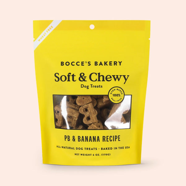 PB + Banana Soft & Chewy Dog Treats