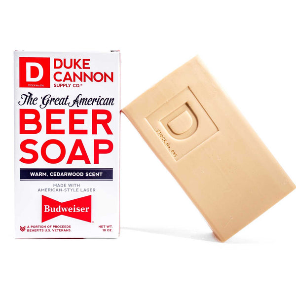Budweiser Beer Soap