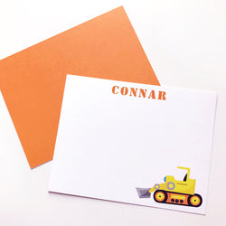 bulldozer stationery