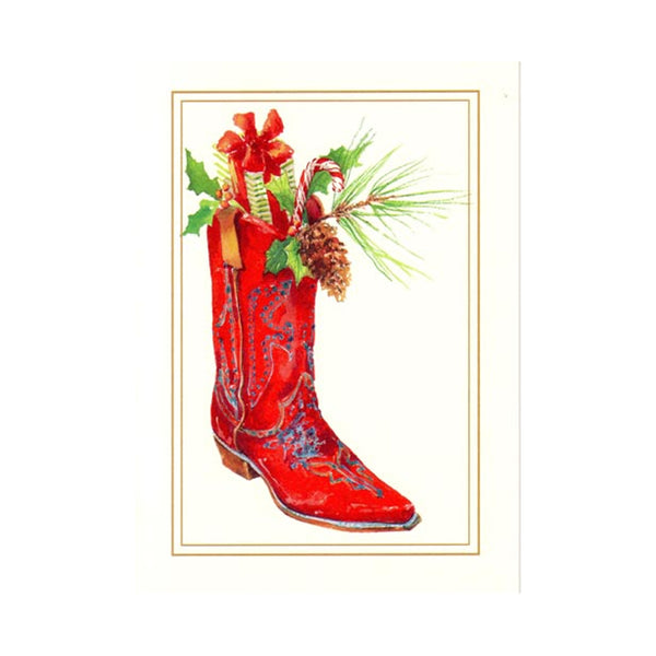 odd balls christmas boot cards on barquegifts.com