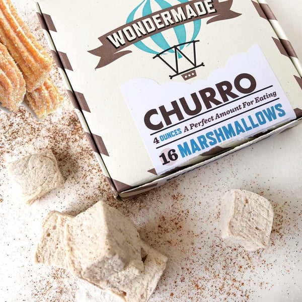 churro marshmallows on barquegifts.com