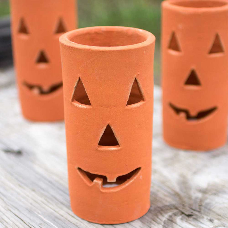 clay jack o lantern on barquegifts.com