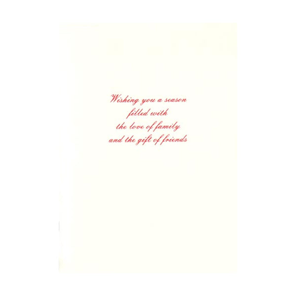 Colonial Tree Boxed Holiday Cards  (box of 10)