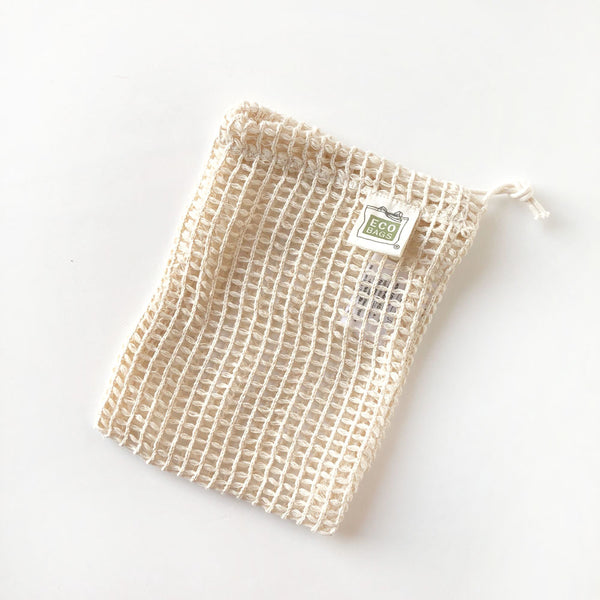 Small Mesh Produce Bag - 100% Cotton