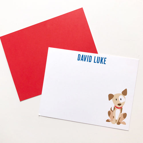dog stationery