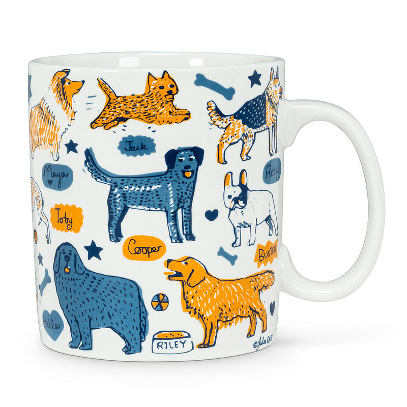 Dogs and Names Jumbo Mug