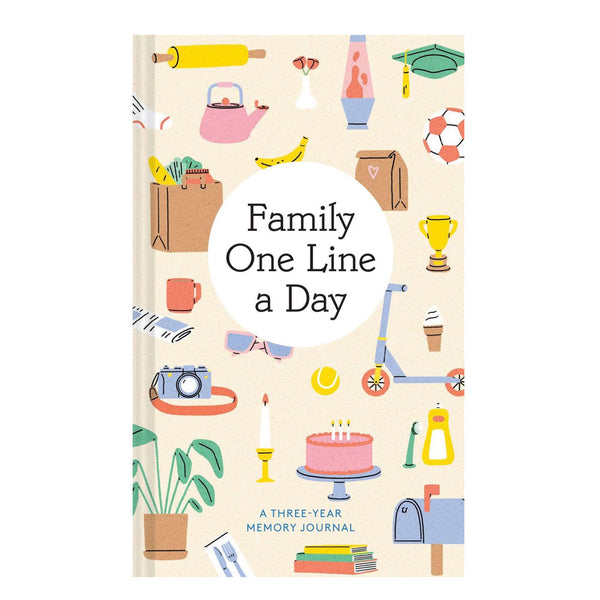 Family One Line a Day 3 Year Journal