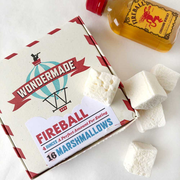 fireball whiskey marshmallows on barquegifts.com