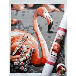 Pink Picasso Painting Kit - Frannie Flamingo