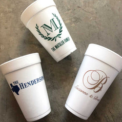 custom foam cups on barquegifts.com