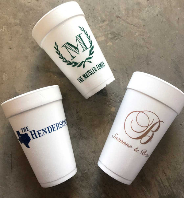Custom Foam Cups (24 oz)