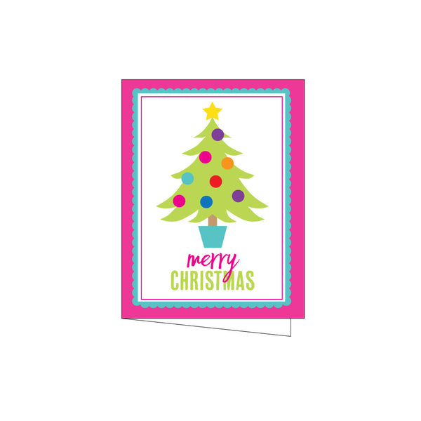 fun tree holiday cards on barquegifts.com