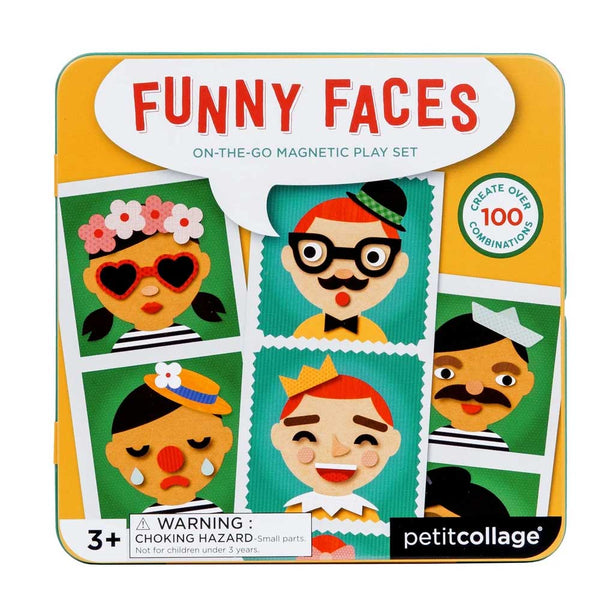 Funny Faces Magnetic Tin
