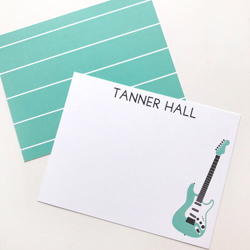 guitar stationery