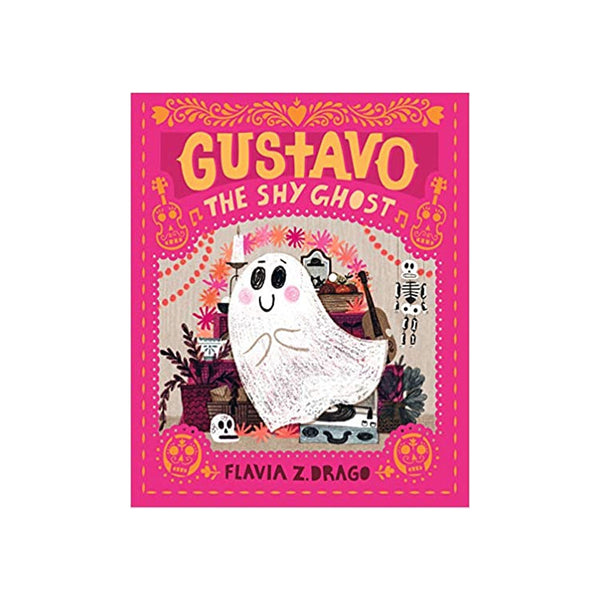 gustavo the shy ghost book on barquegifts.com