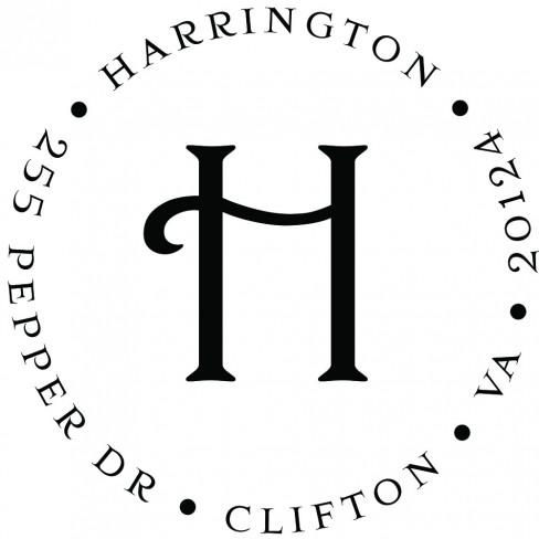 Harrington Self-Inking Stamp