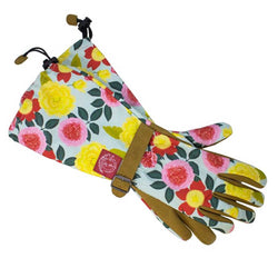 Heirloom Garden Arm Saver Weeder Gloves