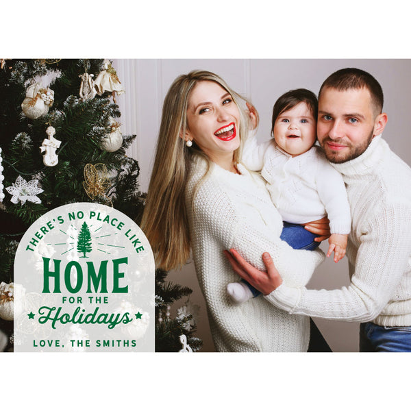 home for the holidays photo card on barquegifts.com