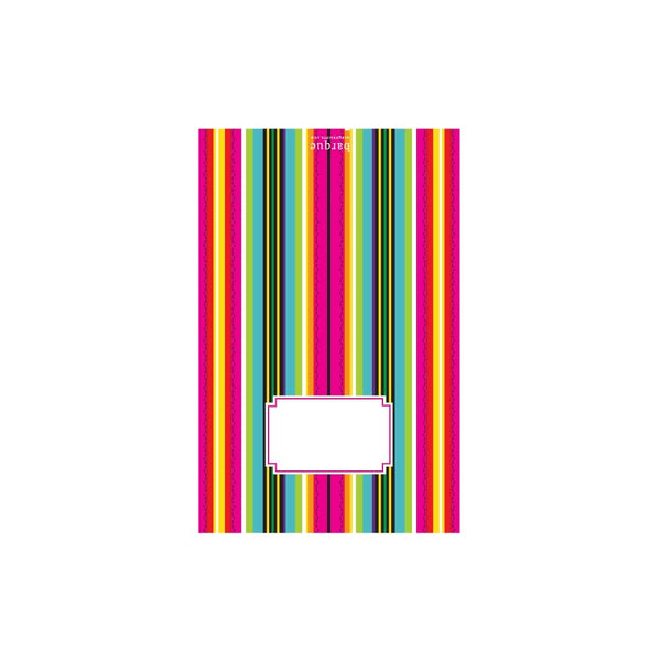 Pink Serape Folded Note