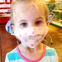 Kids Cotton Face Mask - Adjustable