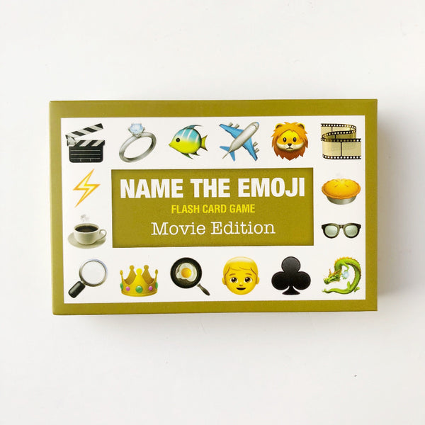 movie name the emoji card game on barquegifts.com