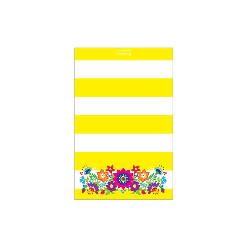 Fiesta Floral Folded Note