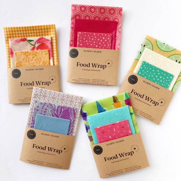 Beeswax Wraps - Colorful