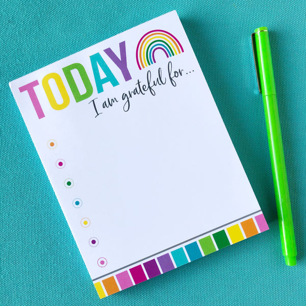 TODAY Count Your Blessings Notepad